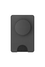 popwallet+ black vegan leather FINAL SALE