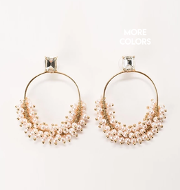 violet & brooks kennedy statement hoop earrings