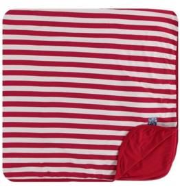 kickee pants candy cane stripe 2019 toddler blanket