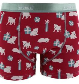 kickee pants crimson puppies and presents mens boxer brief