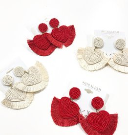 shiraleah misha heart earrings