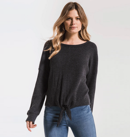 z supply the tie-front waffle thermal top