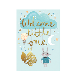 Calypso cards welcome little one card