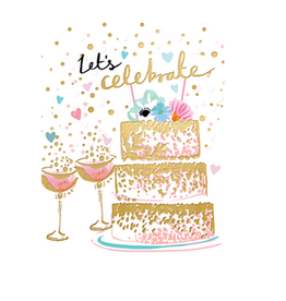 Calypso cards lets celebrate card