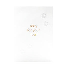 calypso cards sorry pet card