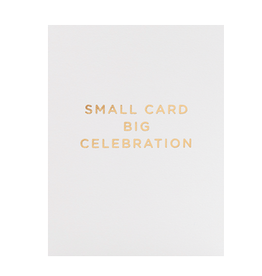 Calypso cards big celebration card