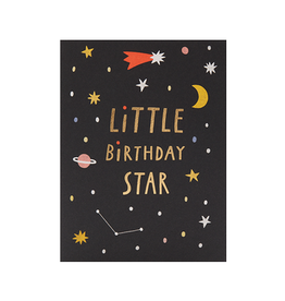 Calypso cards birthday star card