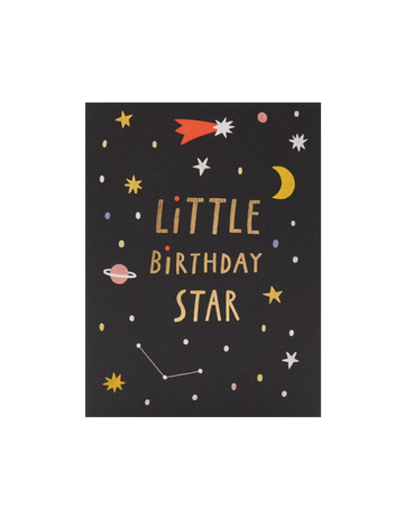Calypso cards birthday star card