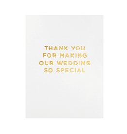 Calypso cards wedding special card
