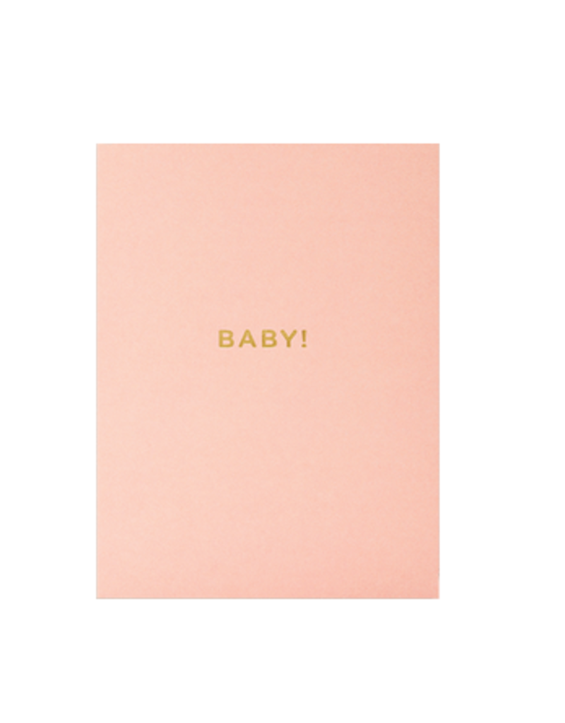 Calypso cards BABY! card