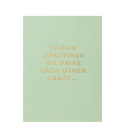Calypso cards drive each other crazy card