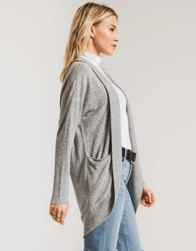 z supply the marled sweater knit cocoon