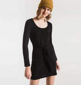 z supply the marled wrap dress