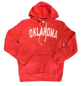 Opolis ou oklahoma straight faded tri hoodie