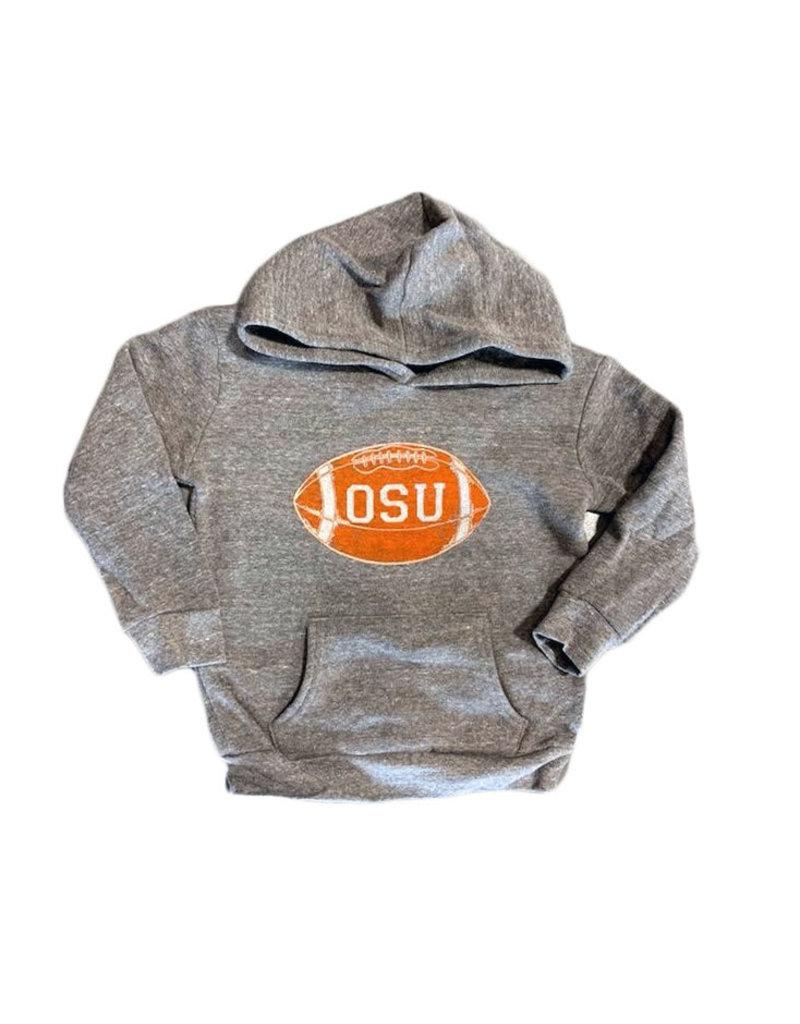 Opolis osu football block kids hoodie