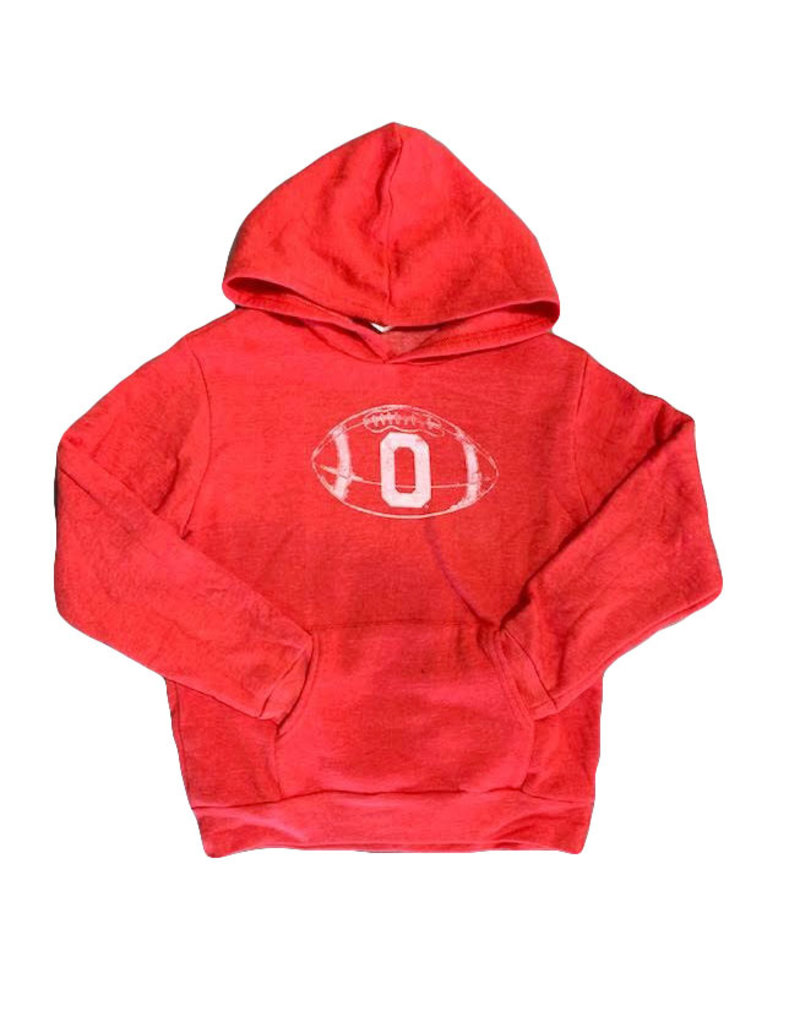 Opolis ou football block o kids hoodie
