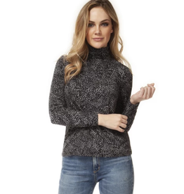dex taylor turtle neck knit top