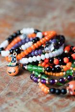 assorted halloween bracelets