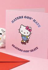 skaters hello kitty card