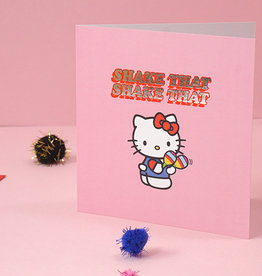 shake that hello kitty card