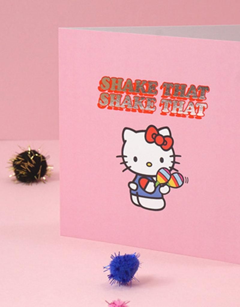 shake that hello kitty card