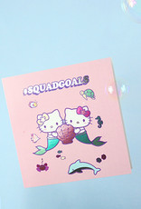 squad goals hello kitty card