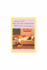 housework card