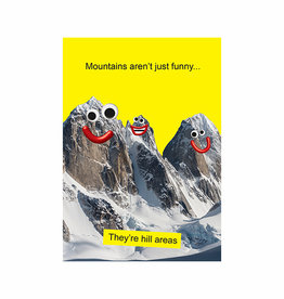 mountains card