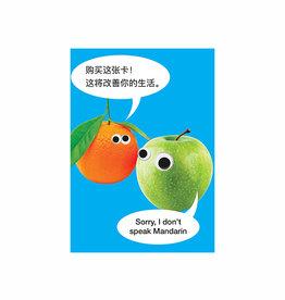 mandarin card