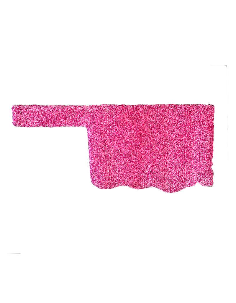 pink oklahoma grass doormat