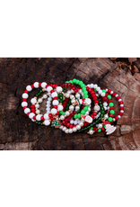 assorted kids christmas bracelets
