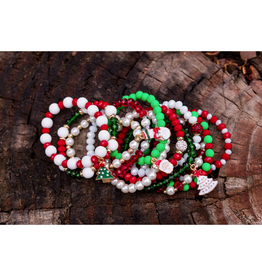 assorted kids christmas bracelets FINAL SALE