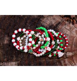assorted kids christmas bracelets