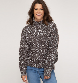 mix it up sweater charcoal