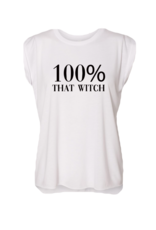 R+R 100% that witch rolled sleeve tee FINAL SALE