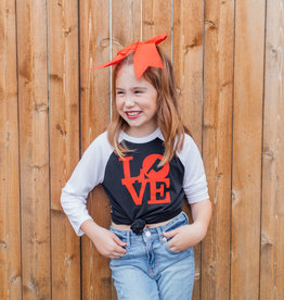 R+R youth love oklahoma baseball tee