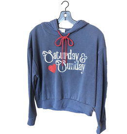 saturday & sunday hoodie