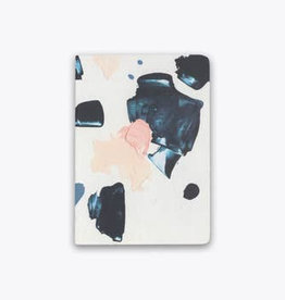 indigo n peach play saddle-stitch notebook