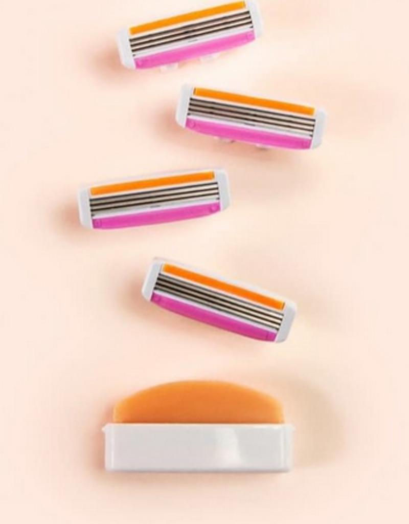 refill pack for all-in-ine razor
