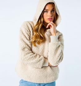 teddie hooded pullover