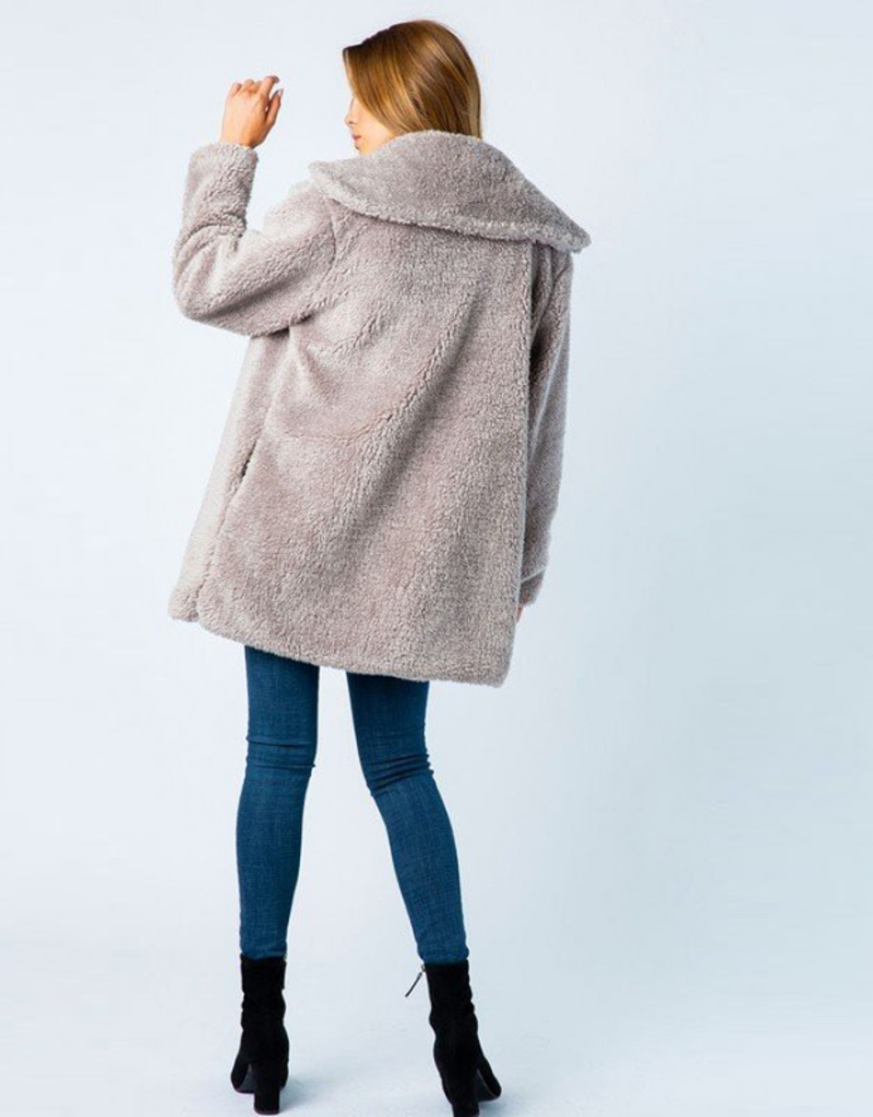 angie pocket coat