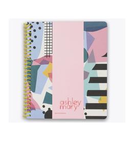 collage craze spiral notebook