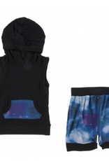 kickee pants wine grapes galaxy short sleeve hoodie tank outfit