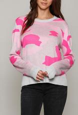 pink camo sweater