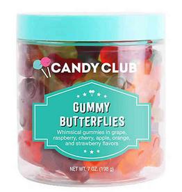 Candy Club gummy butterflies 7oz