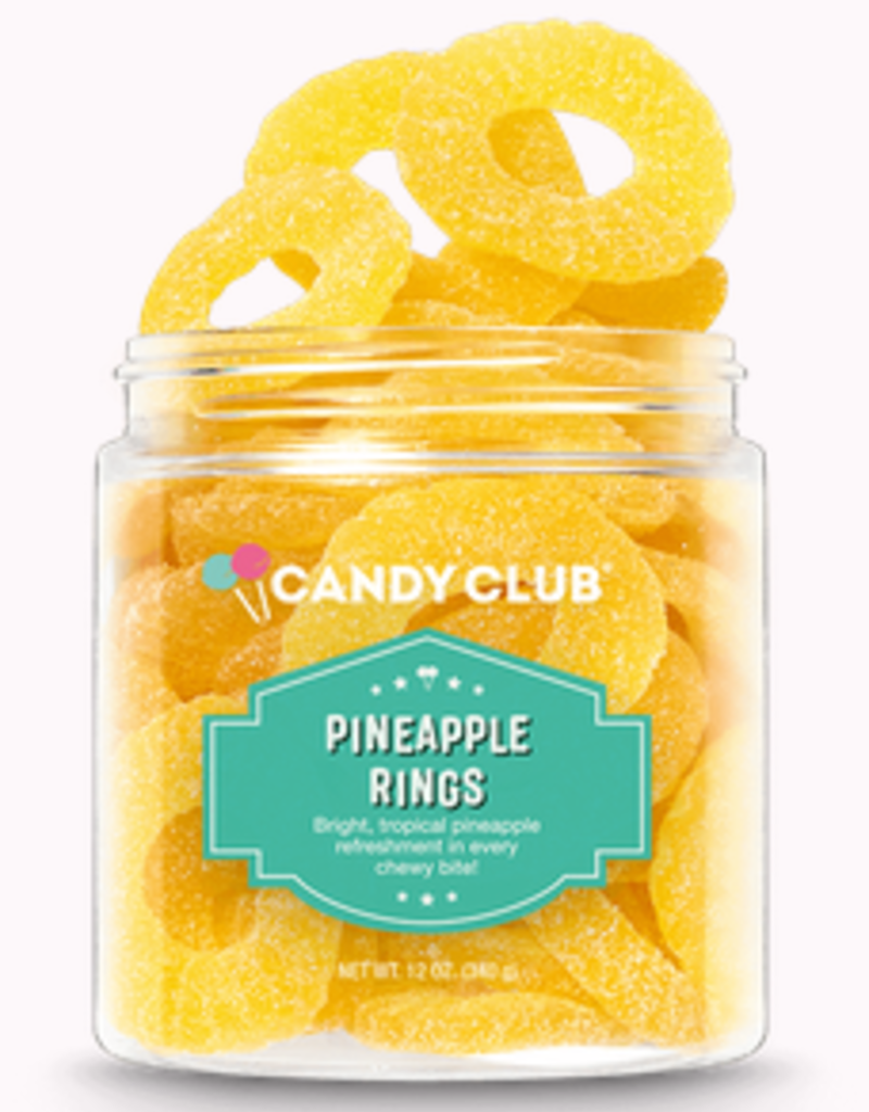 Candy Club pineapple rings 6oz