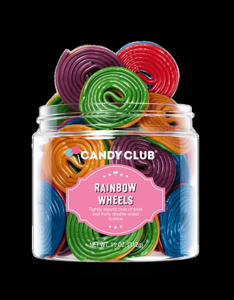 Candy Club rainbow wheels 6oz