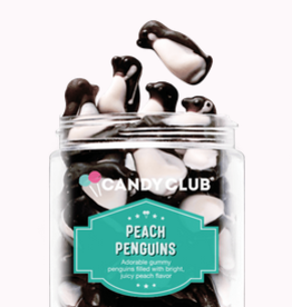 Candy Club peach penguins 7oz