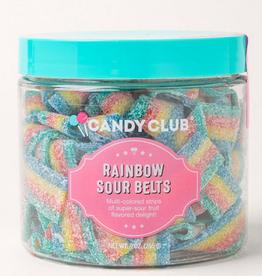 Candy Club sour belts 5oz rainbow
