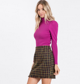 orchid turtle neck sweater